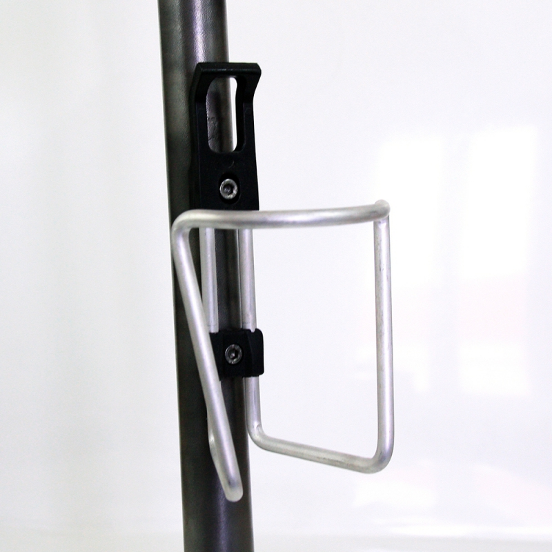Porte bidon noir Triathlon avec visserie