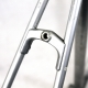 Silver Frame and Forks Peugeot A300 Cosmic Pechiney Size 56