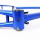 Cadre & fourche bleu en Super Vitus Gitane Taille 53
