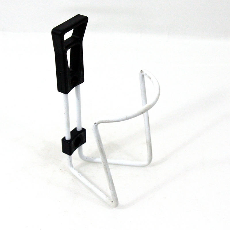 White bottle cage without screw
