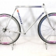 Silver Frame and Forks Peugeot A400 Comete Pechiney Size 56
