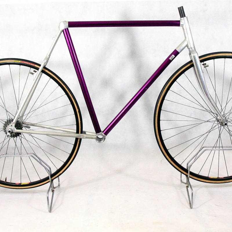 Purple Cyclocross Frame and Fork Vitus 787 Size 56 - Cyclollector