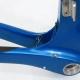 Cadre & fourche bleu vert Look KG196 Marc Allen Taille 51