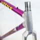 Cadre et fourche violet vitus 979 Taille 48