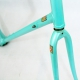 Green artisan Frame and Fork Columbus EL Size 54