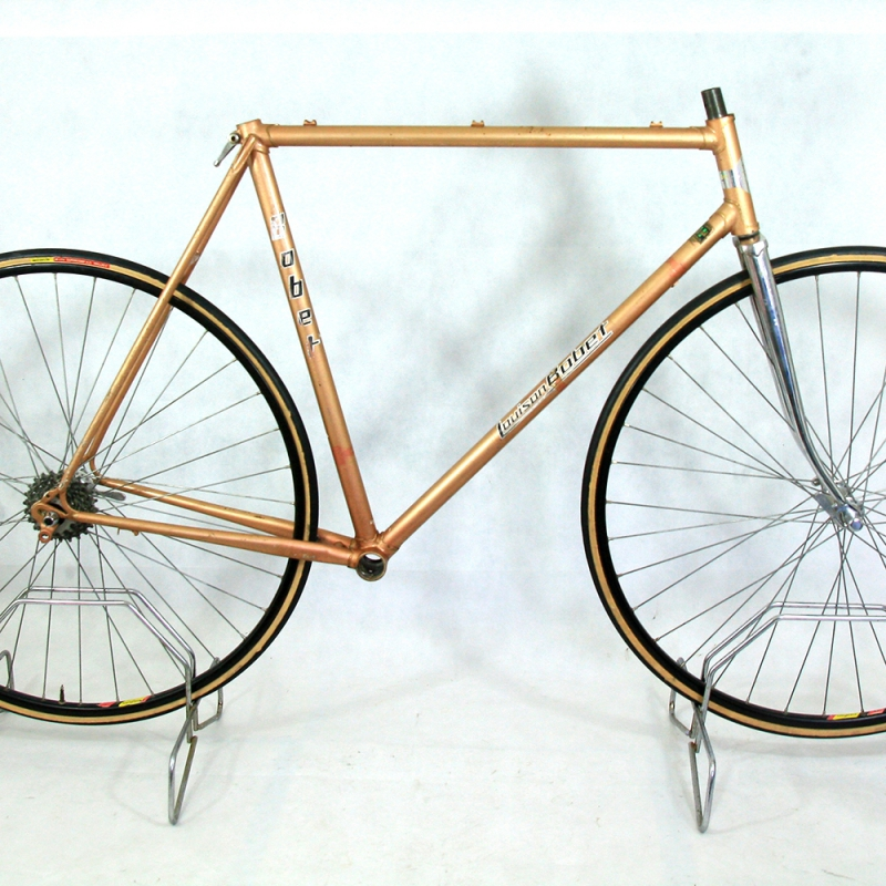 Brown Frame and Fork Louison Bobet Reynolds 531 Size 56