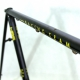 Black Frame and Forks Peugeot Racing Team CR1000PC Reynolds 708 Classic Size 57