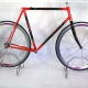 Red and black Frame and fork TVT Size 58