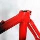 Cadre et fourche Noir et rouge TVT Taille 58