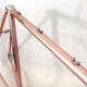Cadre et fourche rose CMP décoration Peugeot PX10 Taille 56