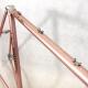 Pink Frame and Forks CMP Peugeot PX10 decor Size 56