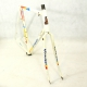 White frame and Forks Raleigh Maxi Sport Size 57