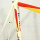 Cadre & fourche blanc Raleigh Maxi sport Reynolds 753 T57