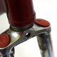 Maroon frame and Forks Barelli Columbus Size 57