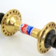 Front and rear Hubs Pelissier 2000 Gold